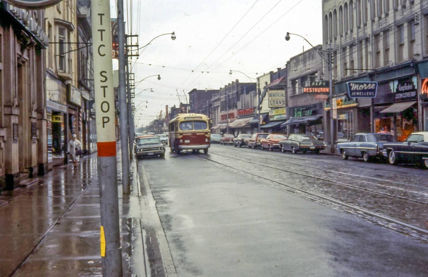 ttc bus 1960s