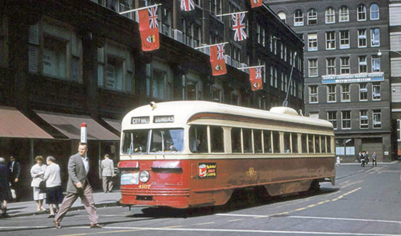 toronto streetcar history