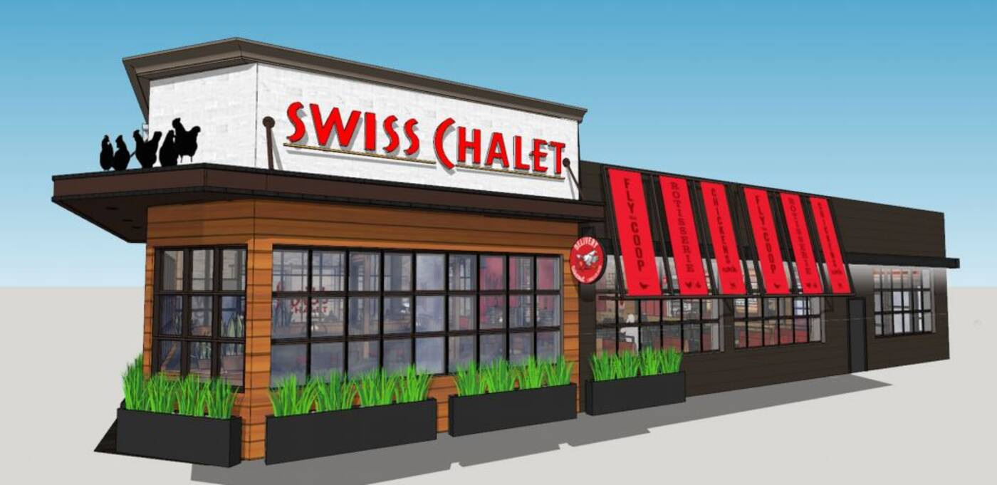 Swiss Chalet makeover