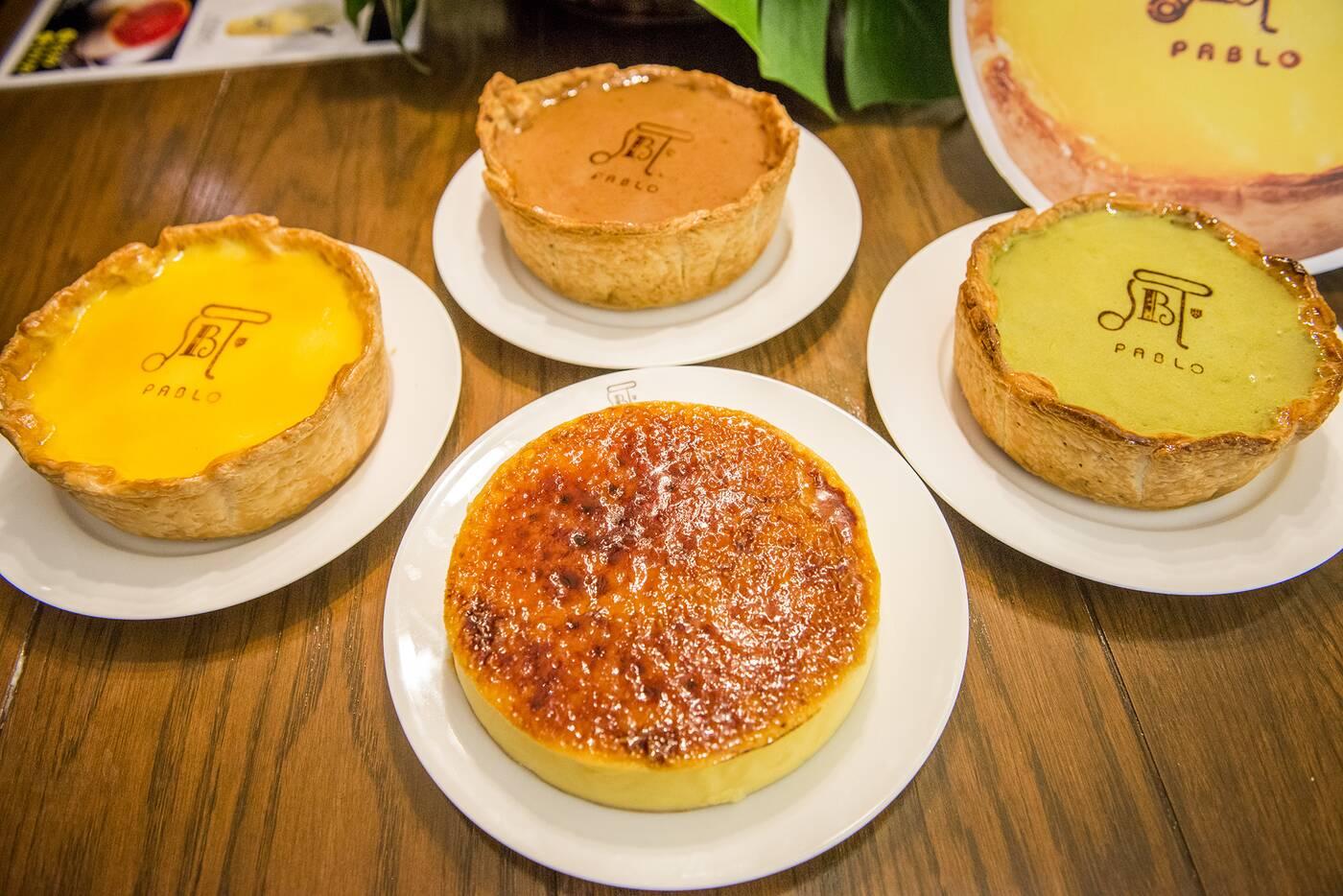 pablo cheese tarts