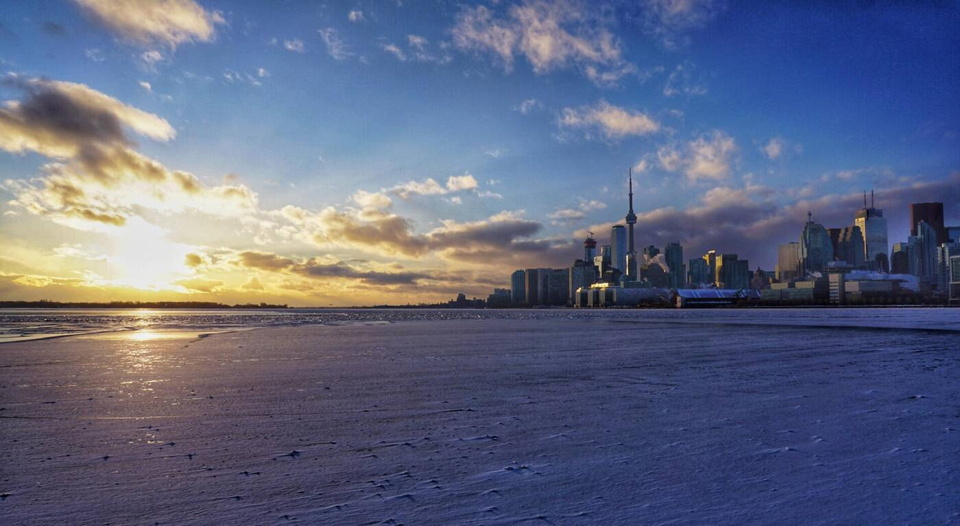 Toronto Waterfront Ice