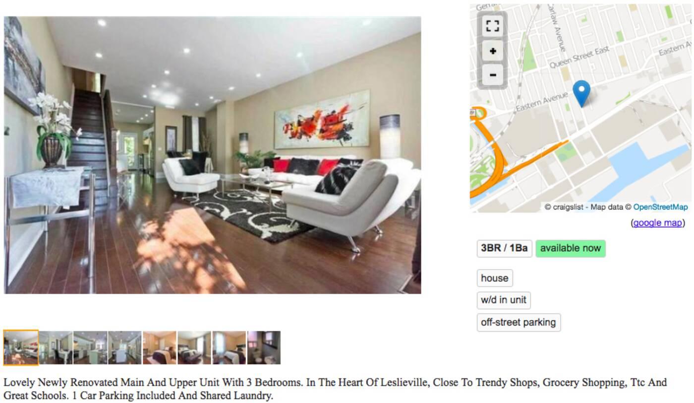 3000 apartments Toronto