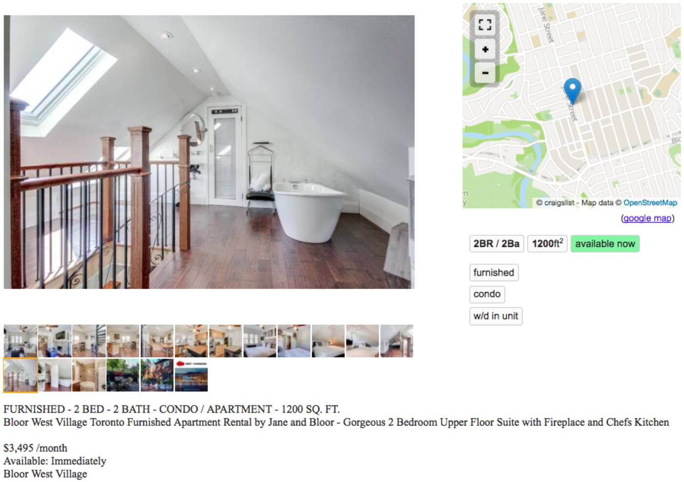 What a $3,500 apartment looks like in Toronto right now