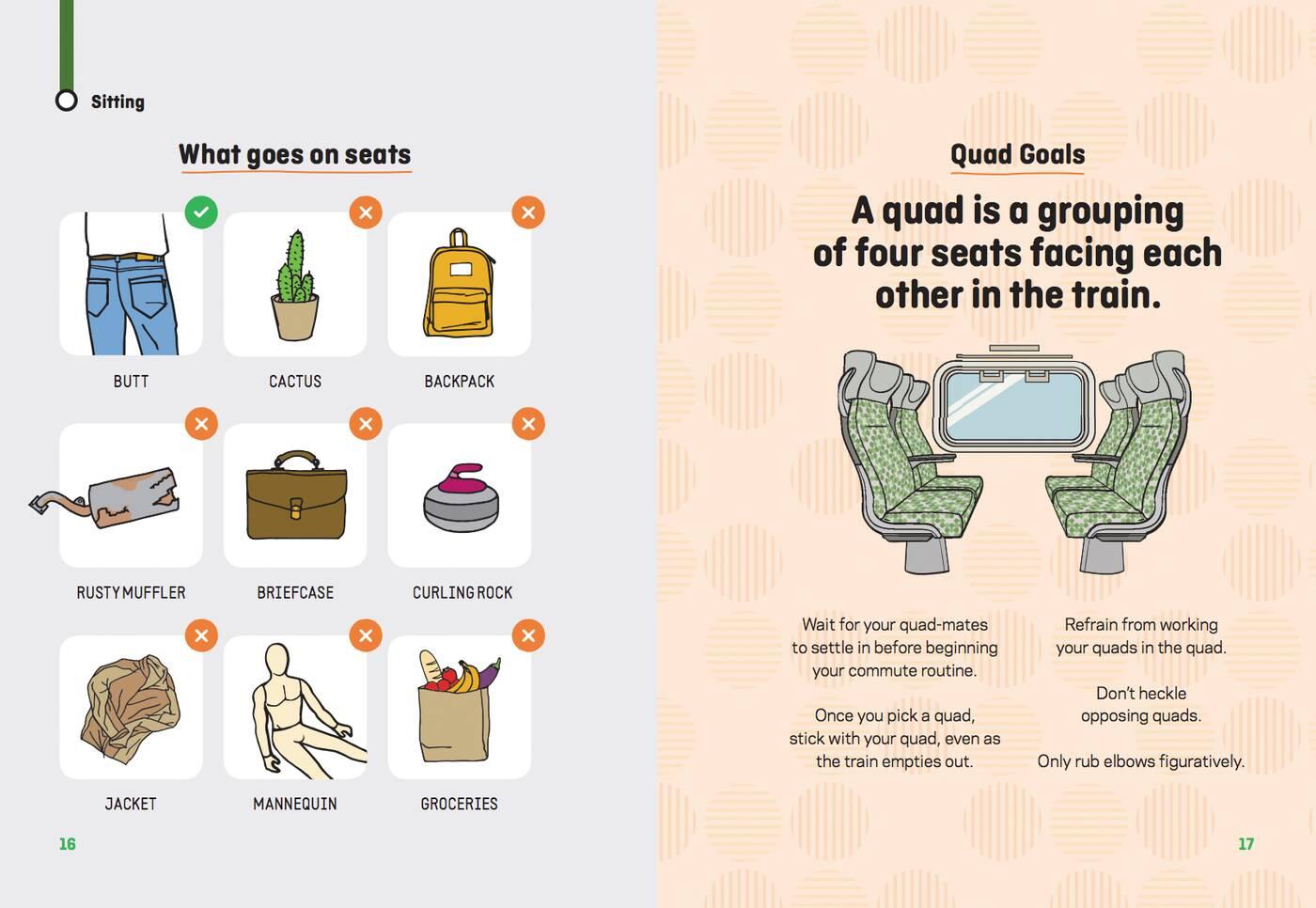 Go Transit etiquette
