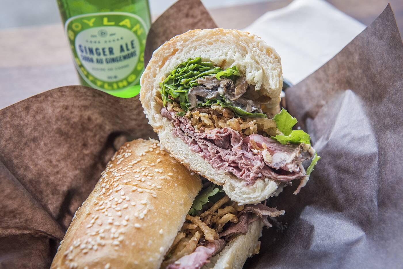 Woodfire Sandwich Toronto