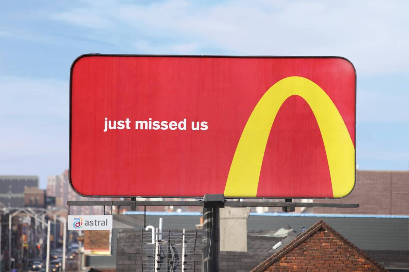 McDonald's billboards Toronto
