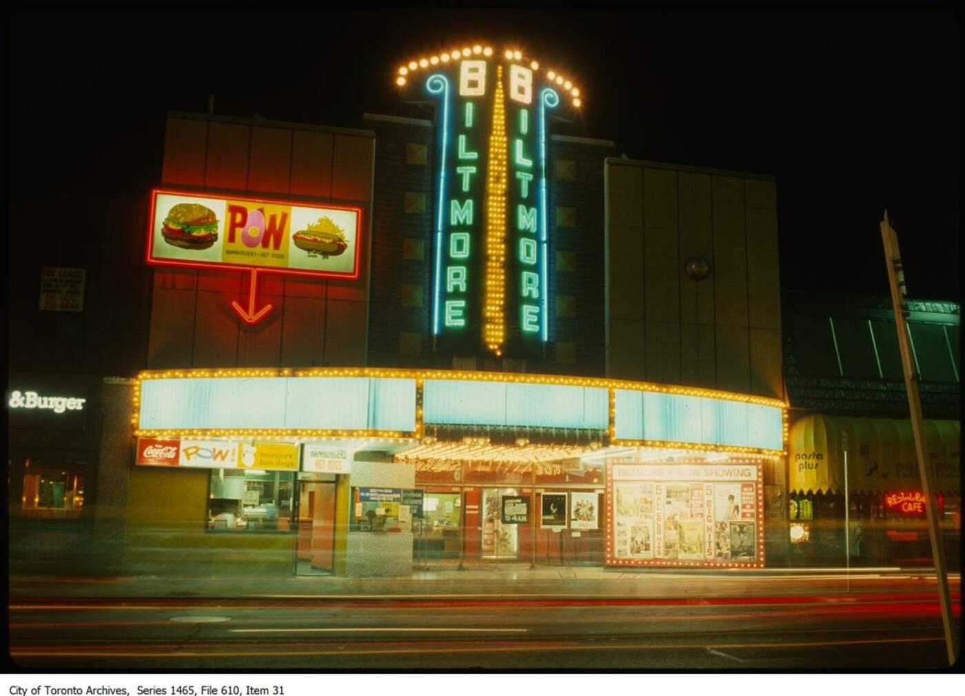 Biltmore Theatre Toronto