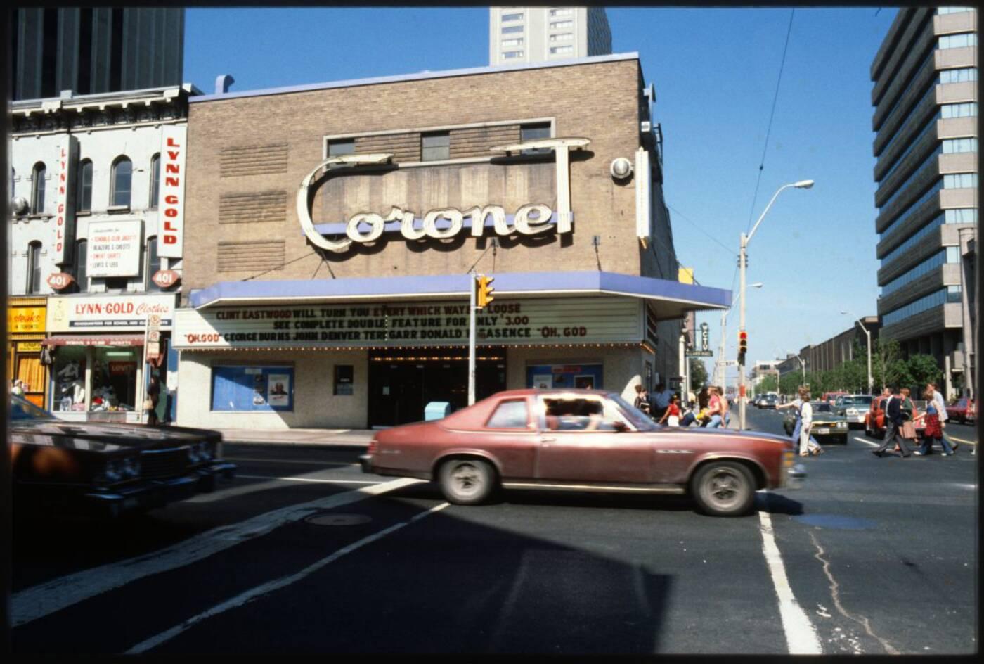 coronet theatre toronto