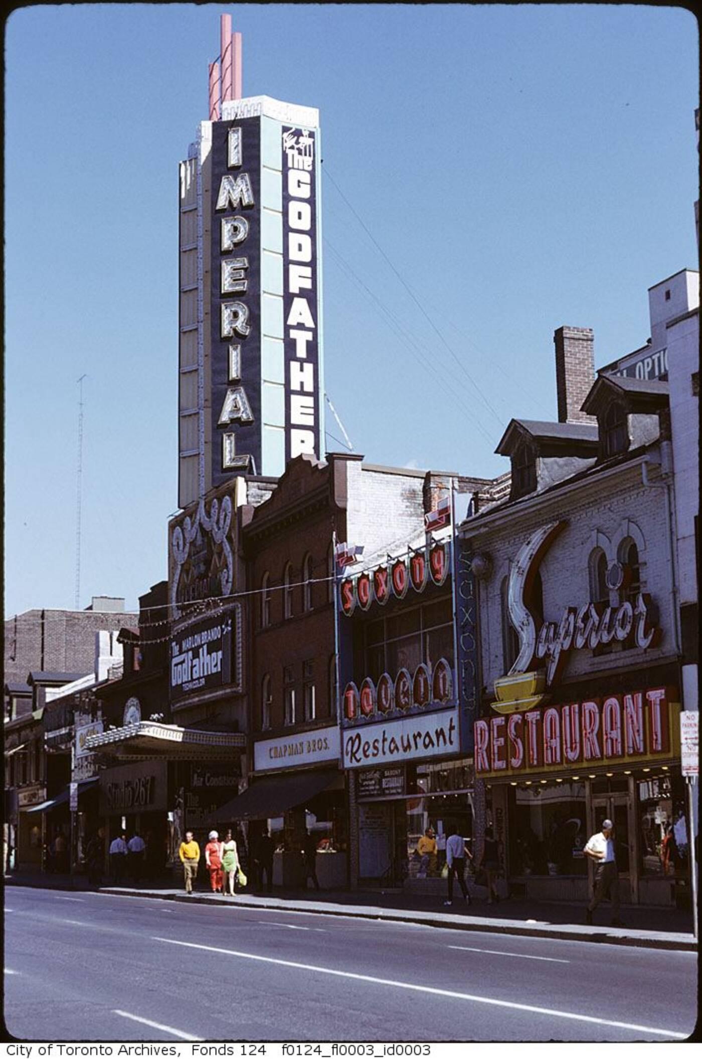 imperial theatre toronto