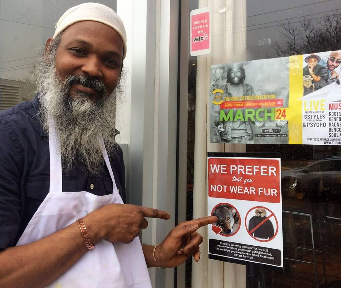 anti fur restaurants toronto