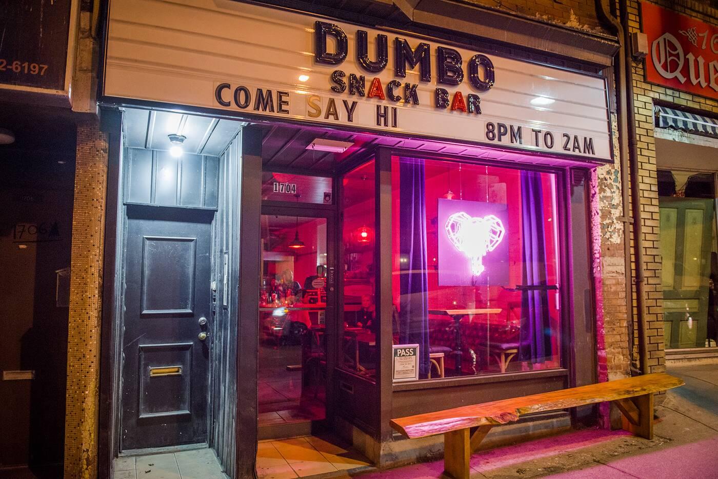 dumbo snack bar blogto