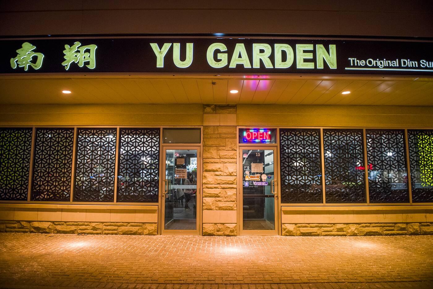 Yu Garden toronto