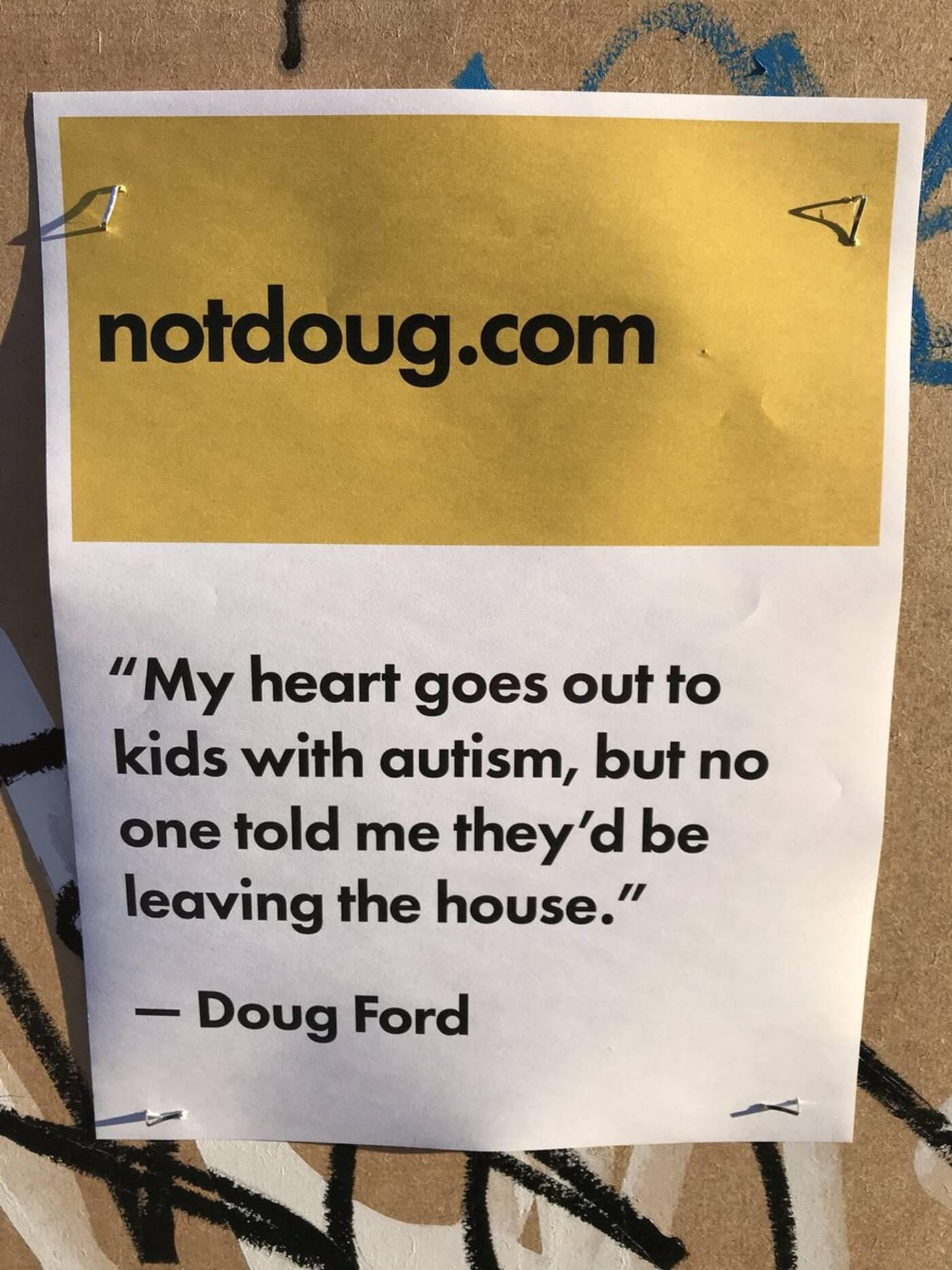 NotDoug campaign