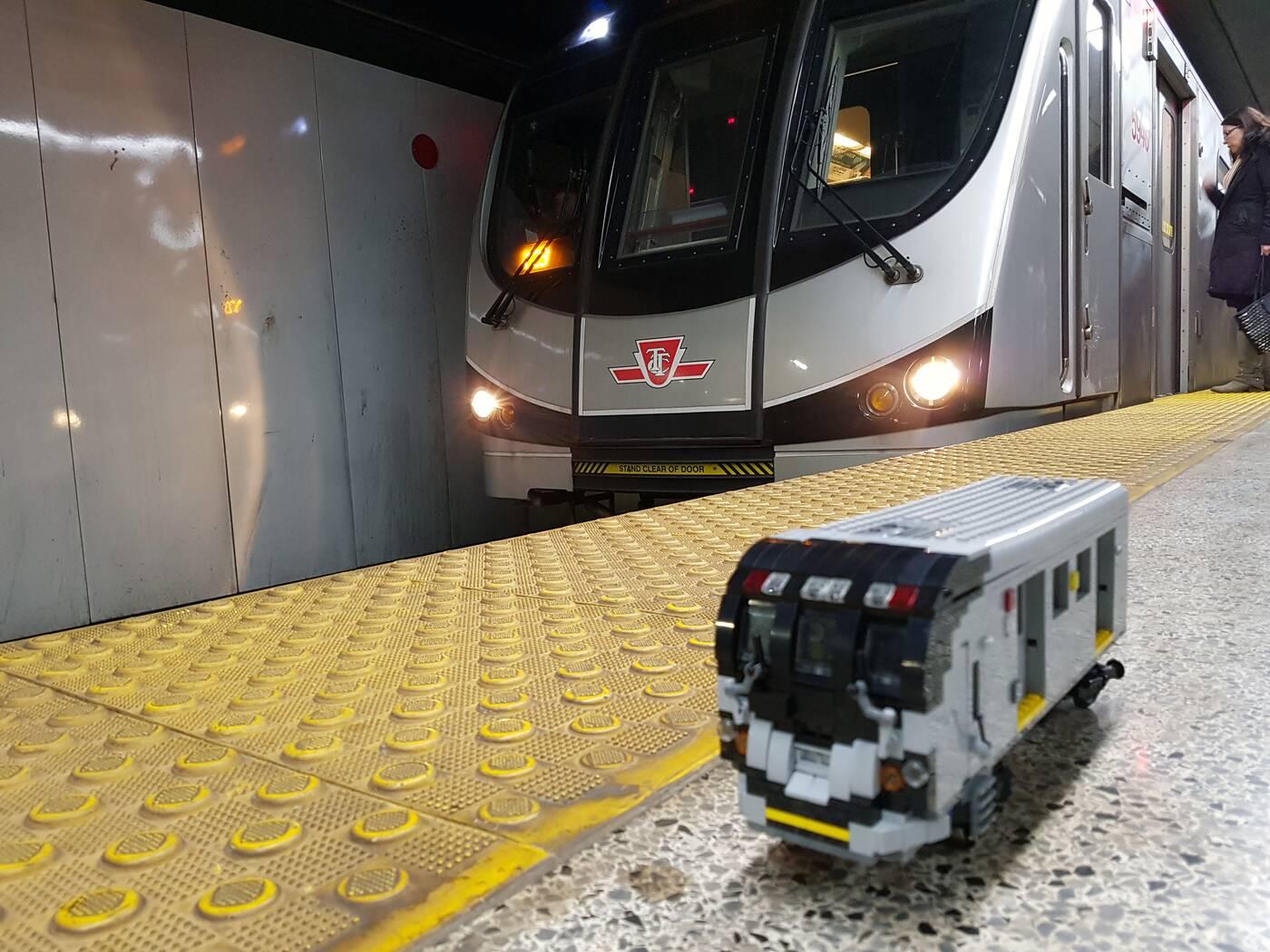 TTC train LEGO