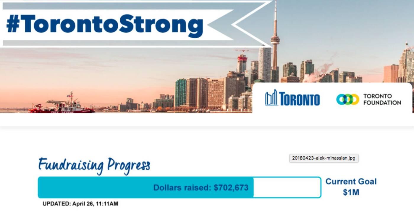 Toronto Strong Fundraiser