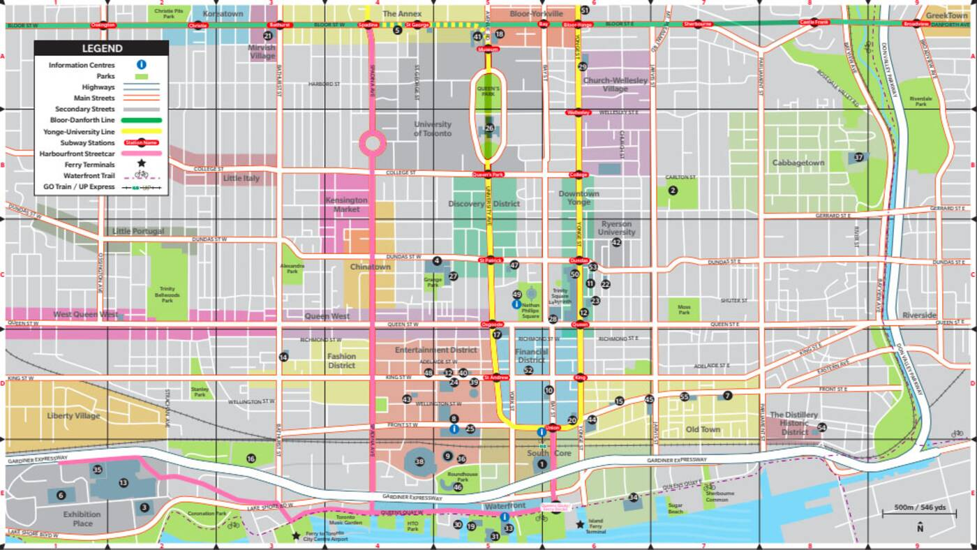 Map Of Toronto Downtown Downtown Toronto's borders have just been redrawn