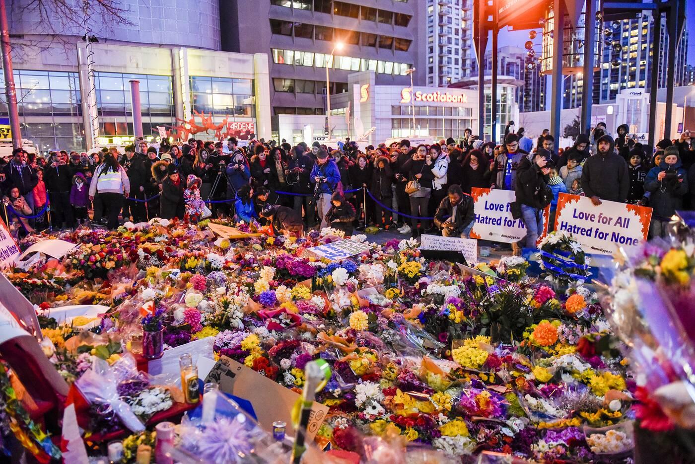 Toronto Strong vigil
