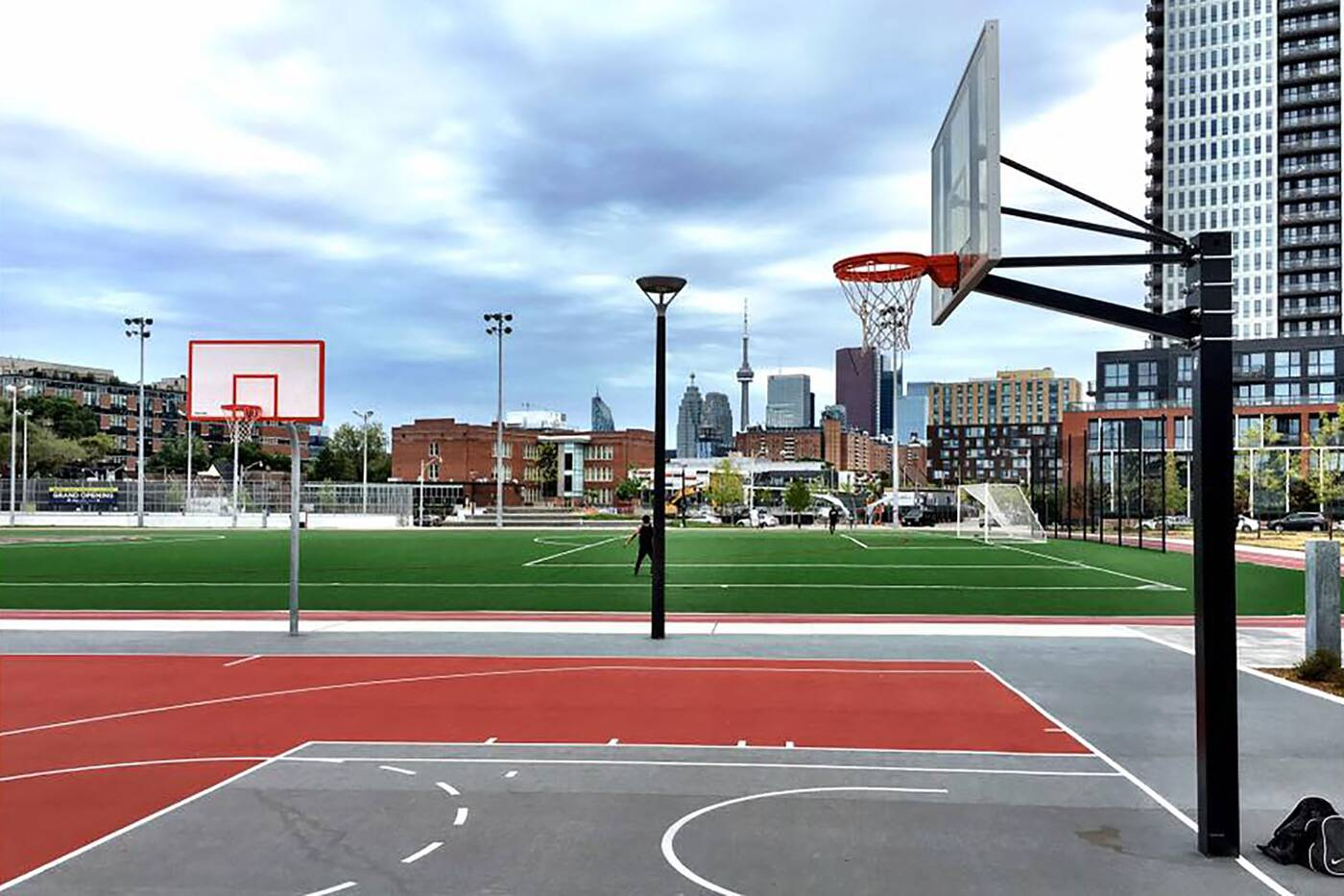 outdoor sports fields toront