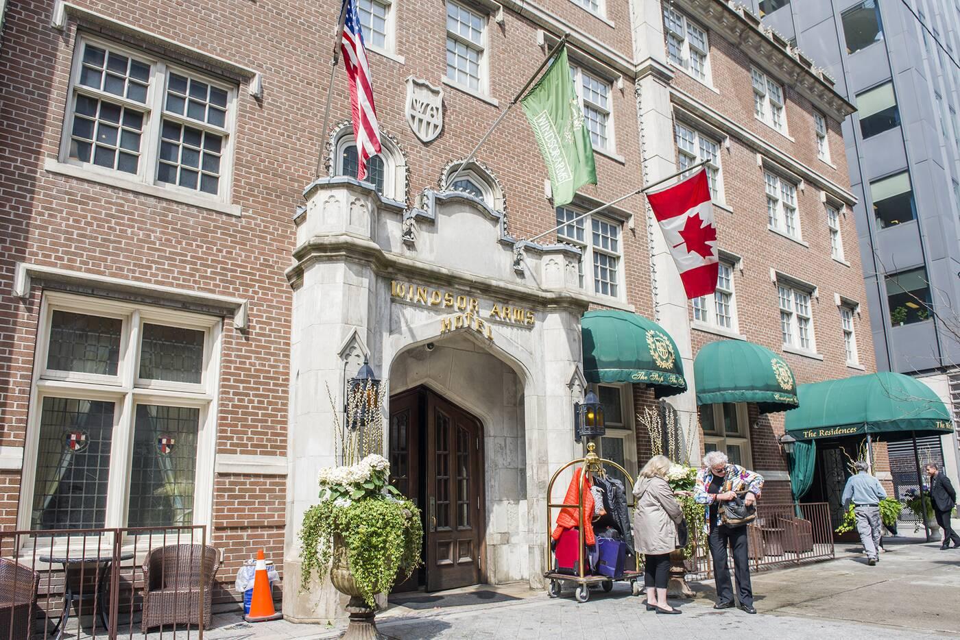 Windsor Arms Toronto
