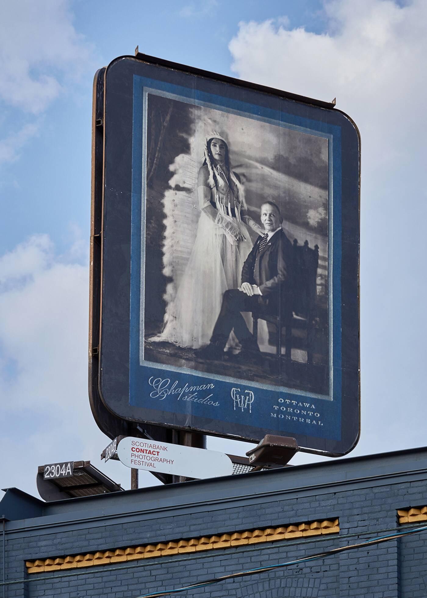 Kent Monkman billboard