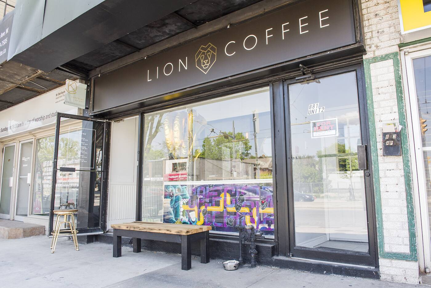 Lion Coffee Toronto
