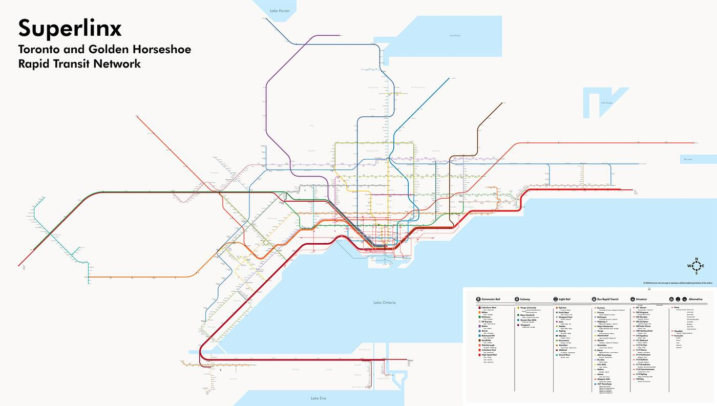Fantasy Toronto Subway Map.Toronto S Newest Transit Fantasy Map Is Like A Dream Come True