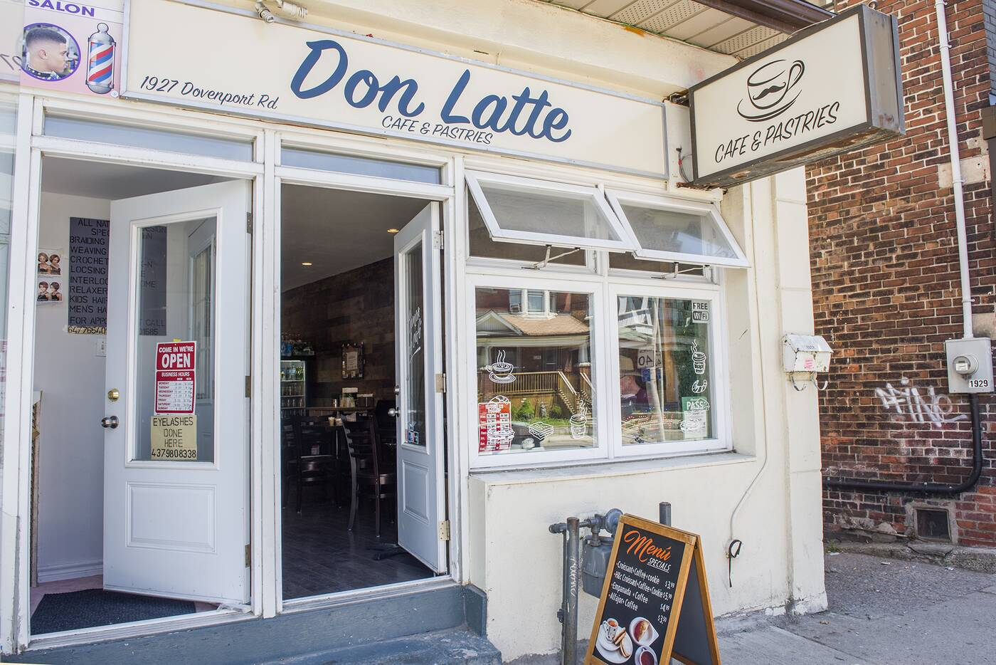 don latte cafe toronto