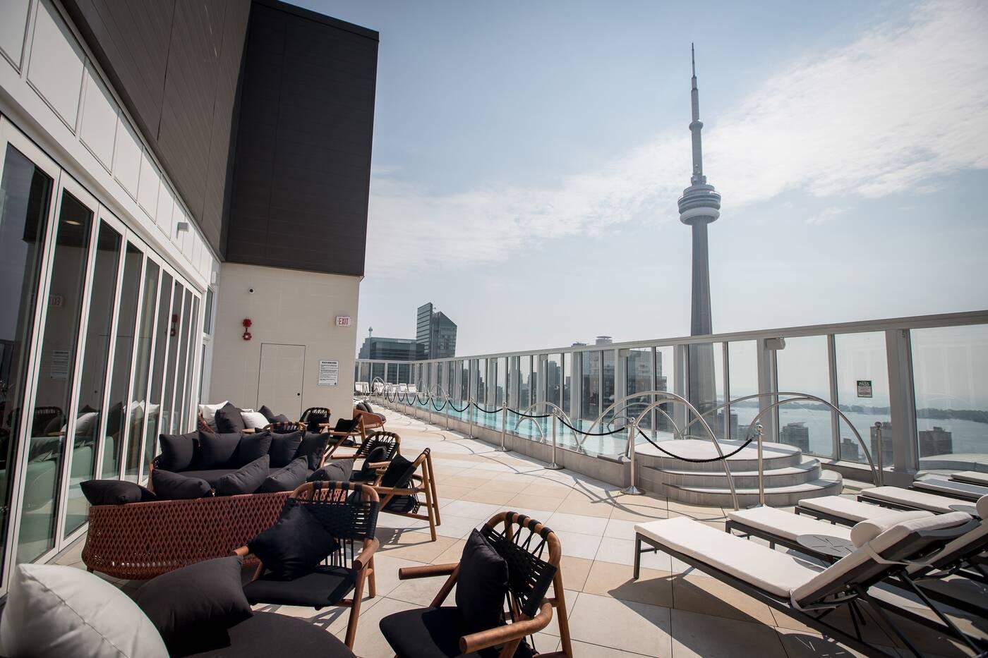 top patio views toronto