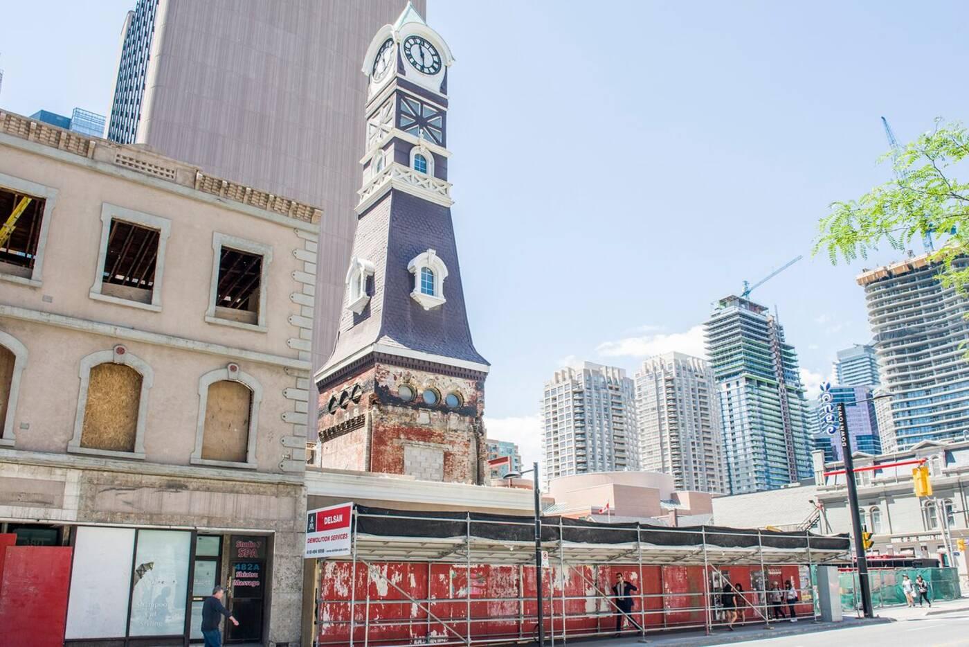 toronto clock tower
