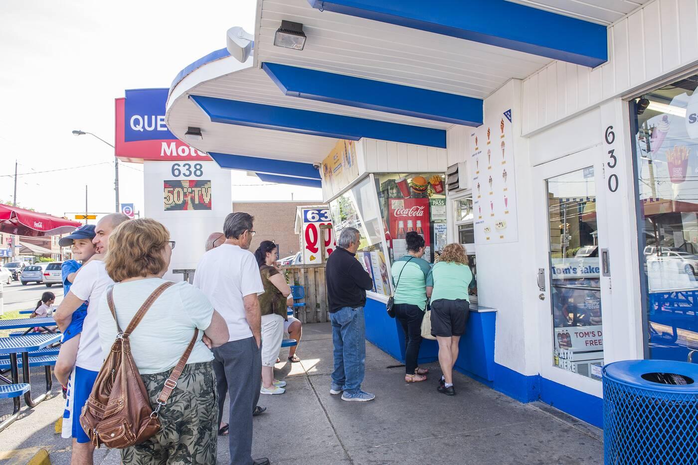 Toms Dairy Freeze Toronto