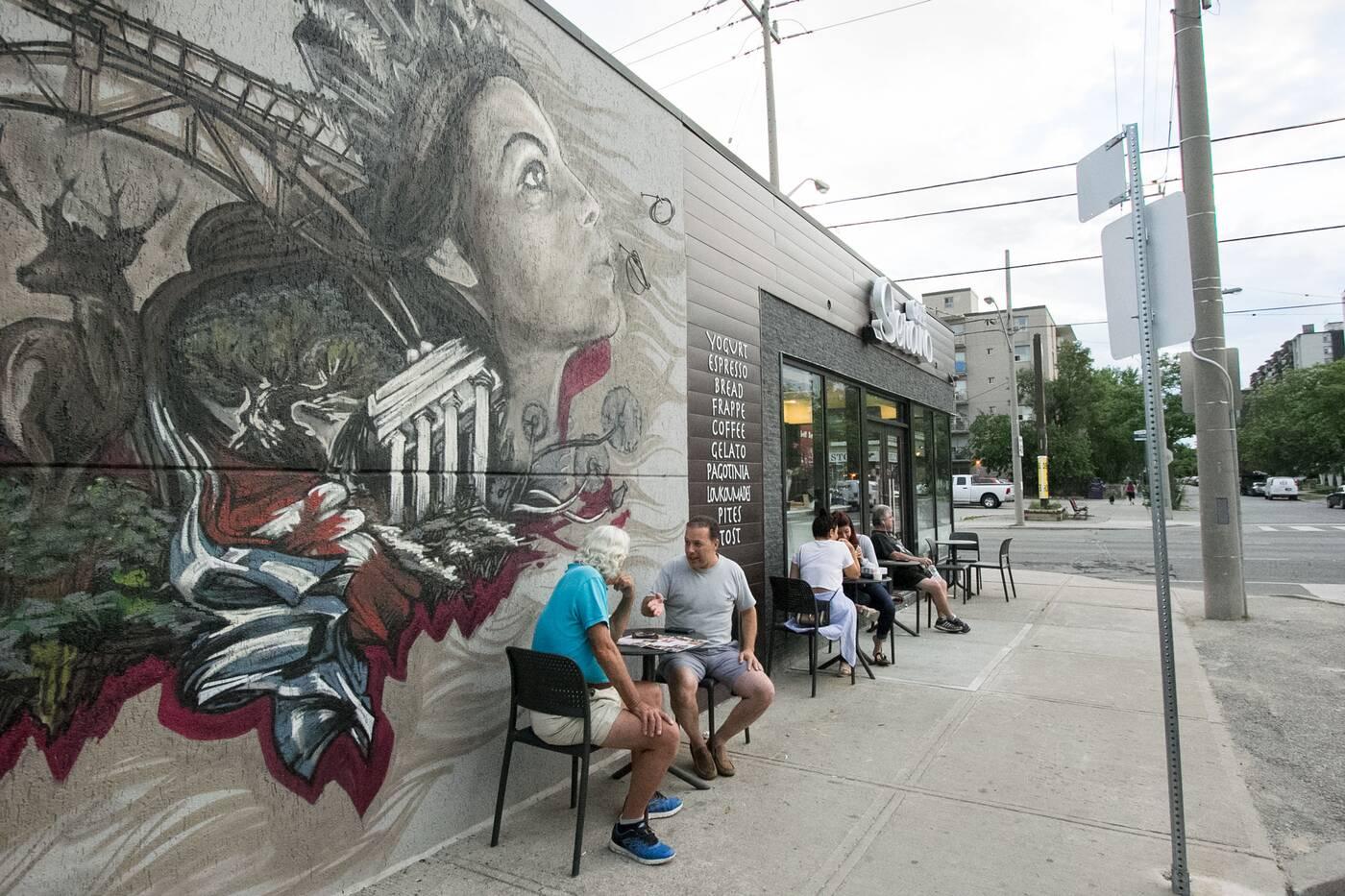 top new cafe patios toronto