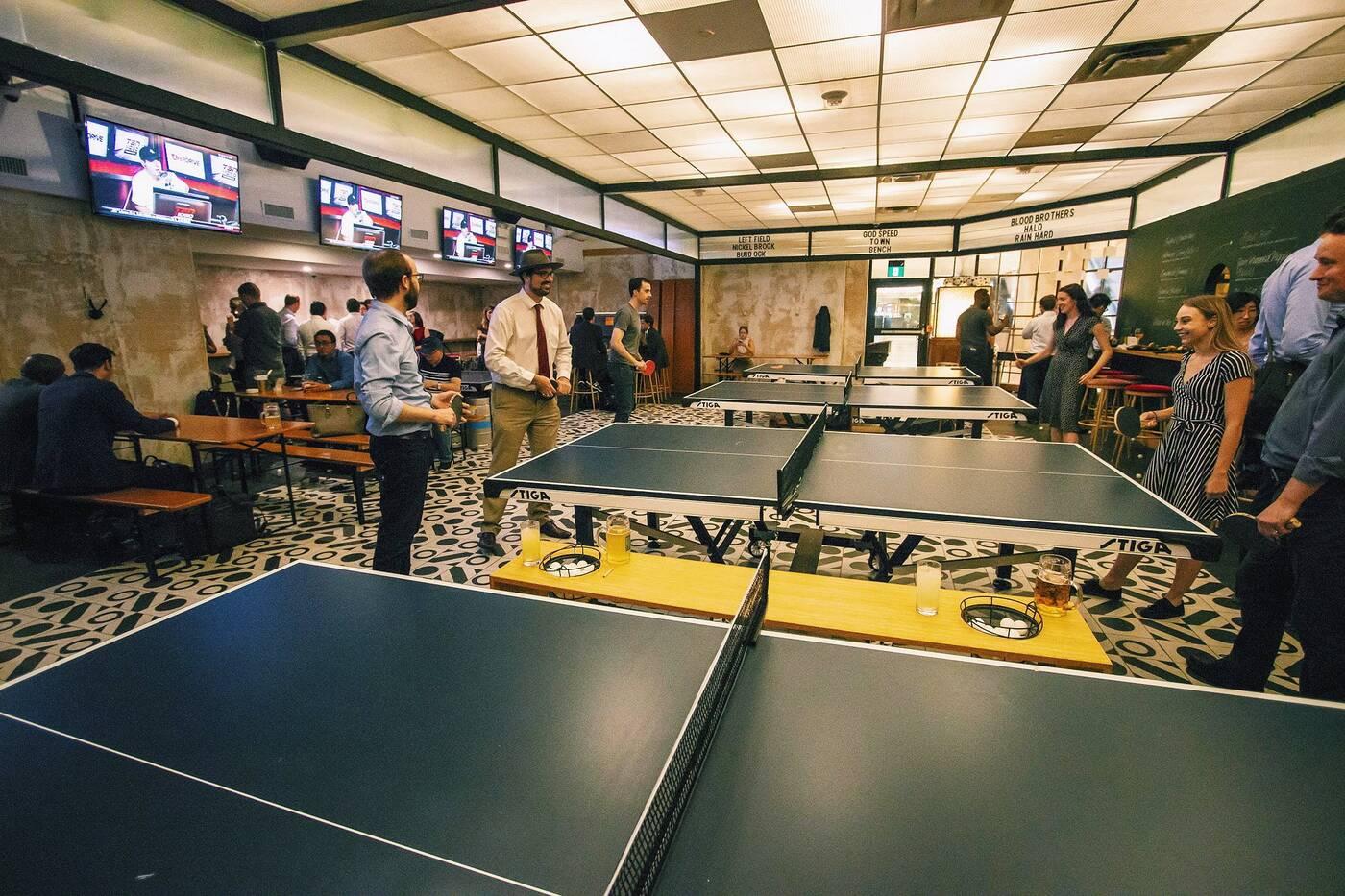 Pong Bar Toronto