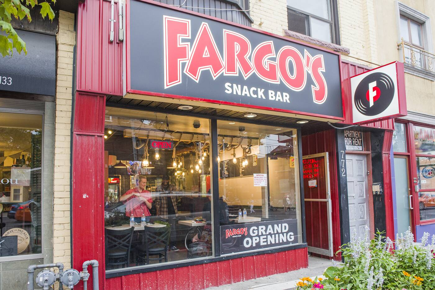 Fargos Snack Bar Toronto
