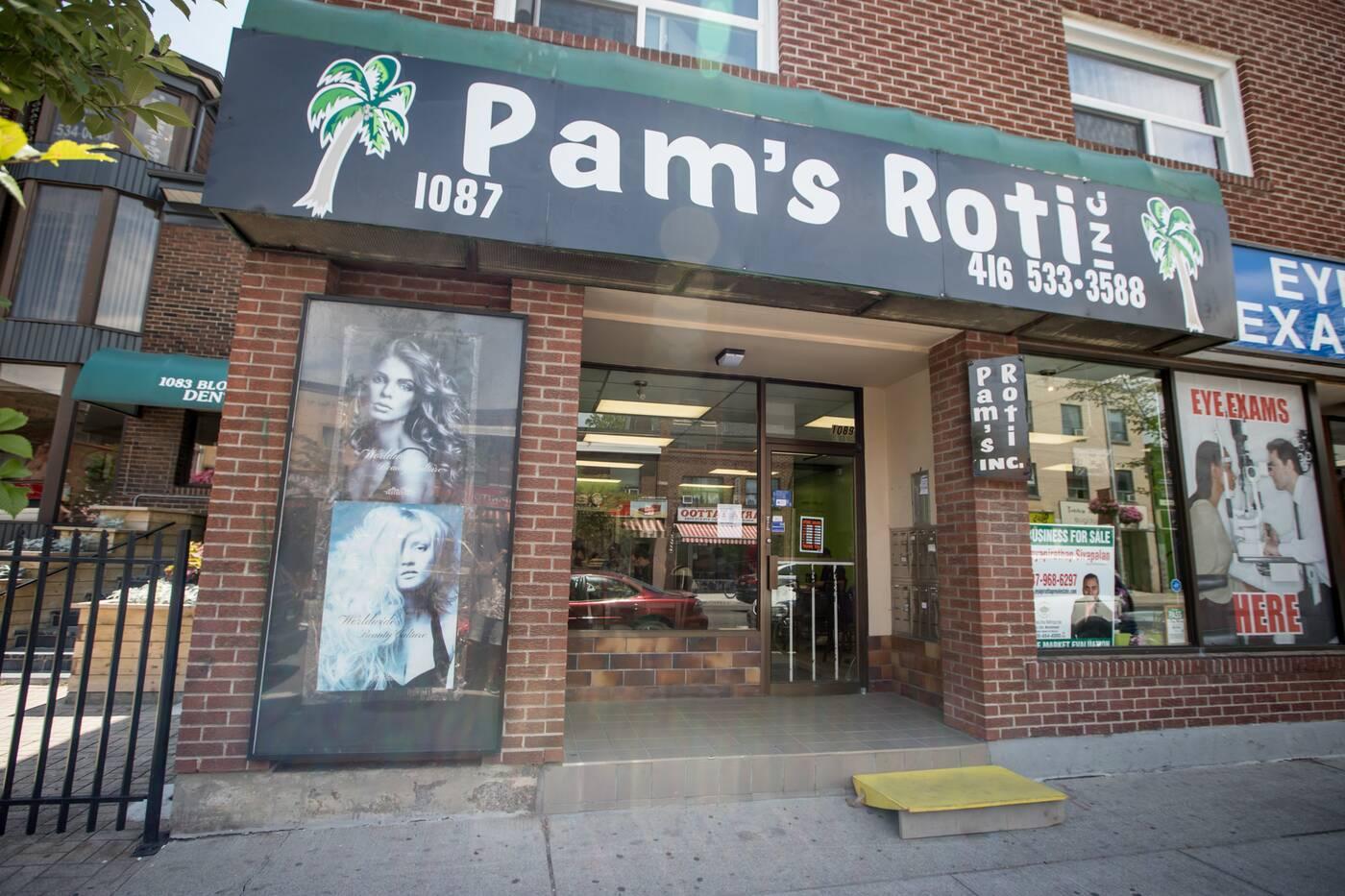 Pams Roti Toronto