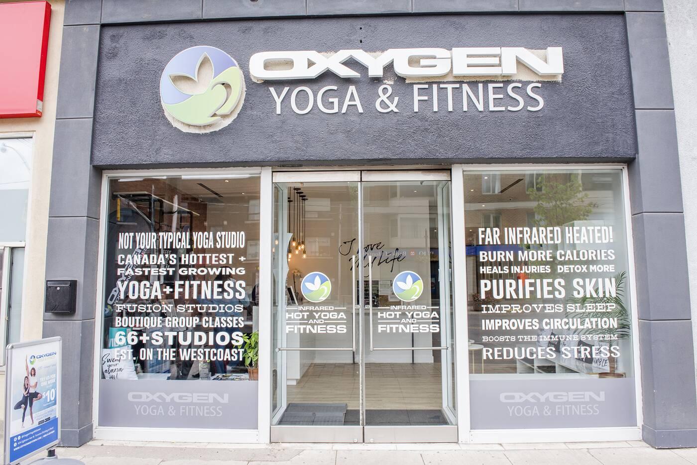 oxygen yoga toronto