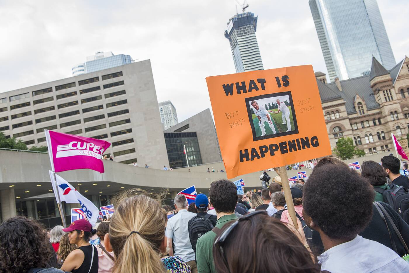 ford protest toronto