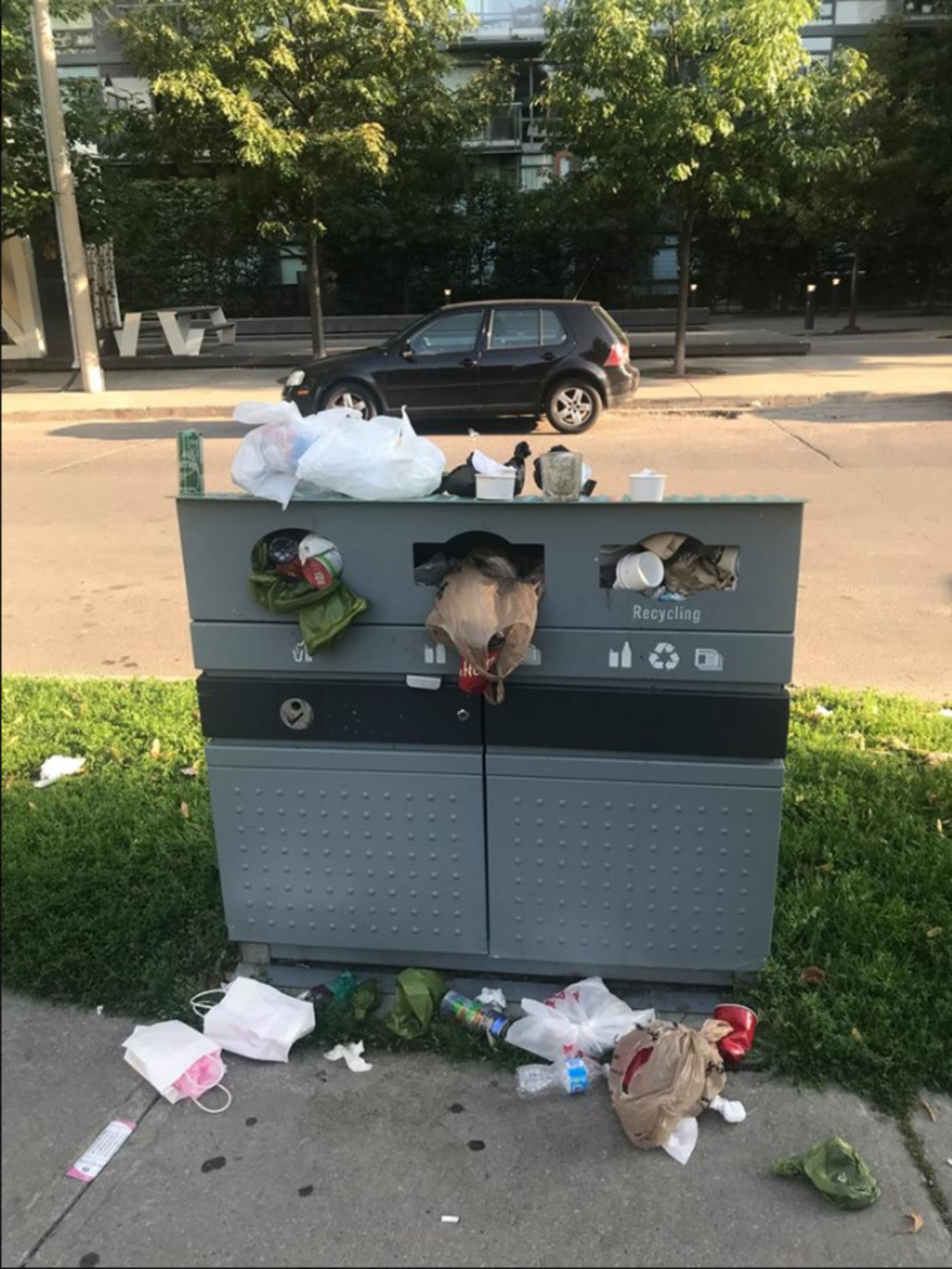 victoria memorial square park garbage problem