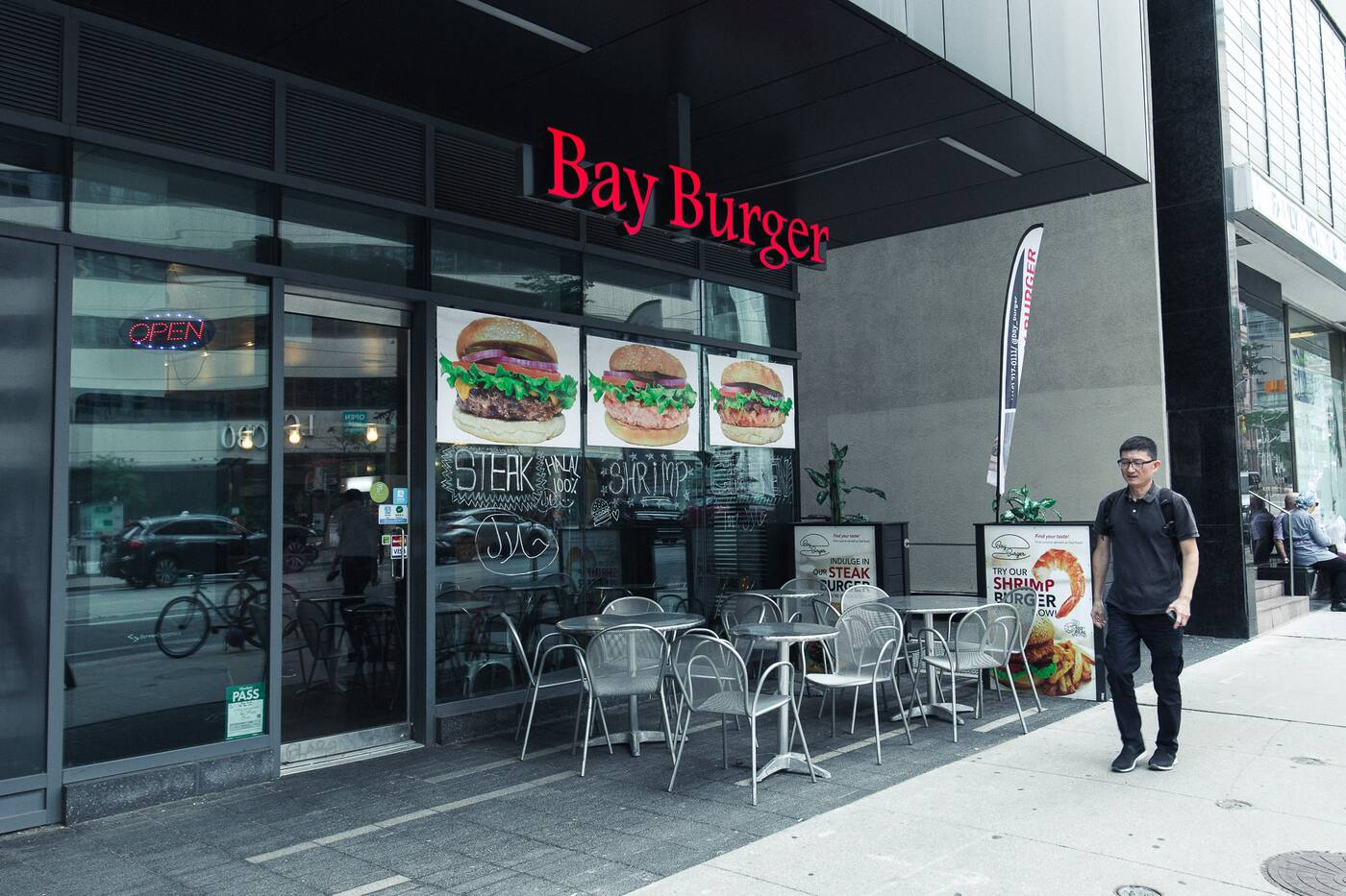 Bay Burger Toronto
