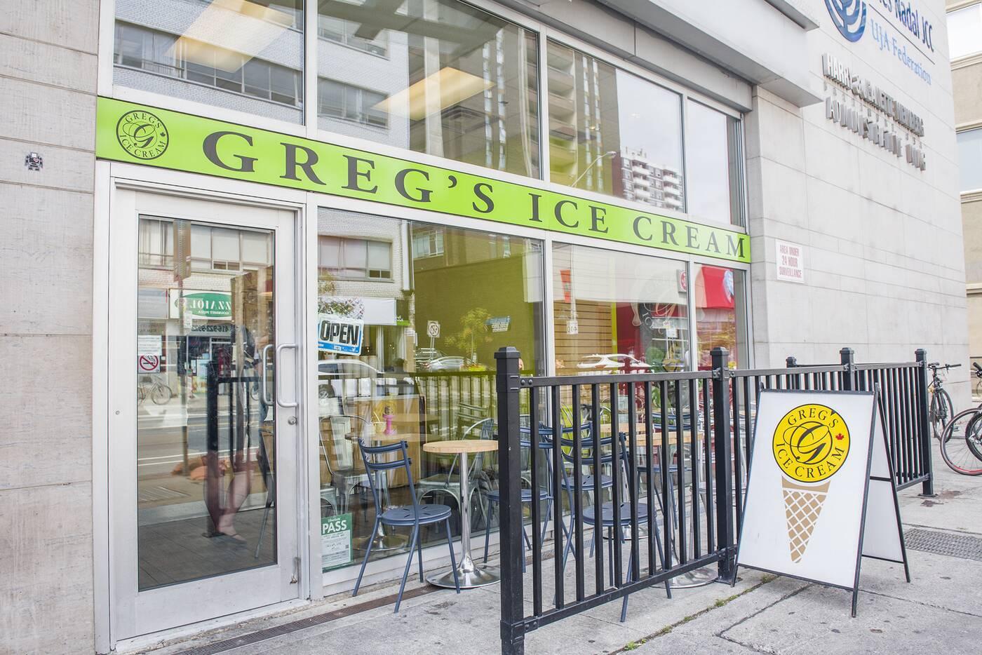 Gregs Ice Cream Toronto