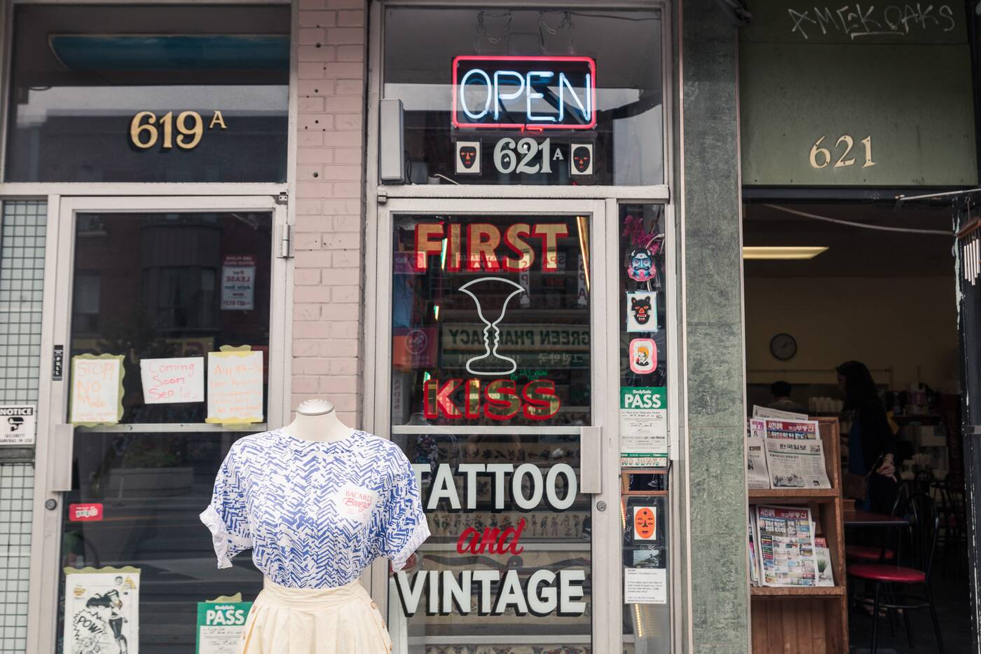 First Kiss Tattoo and Vintage Toronto