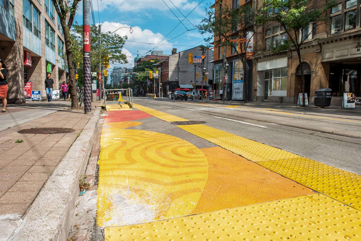 streetcar safety murals