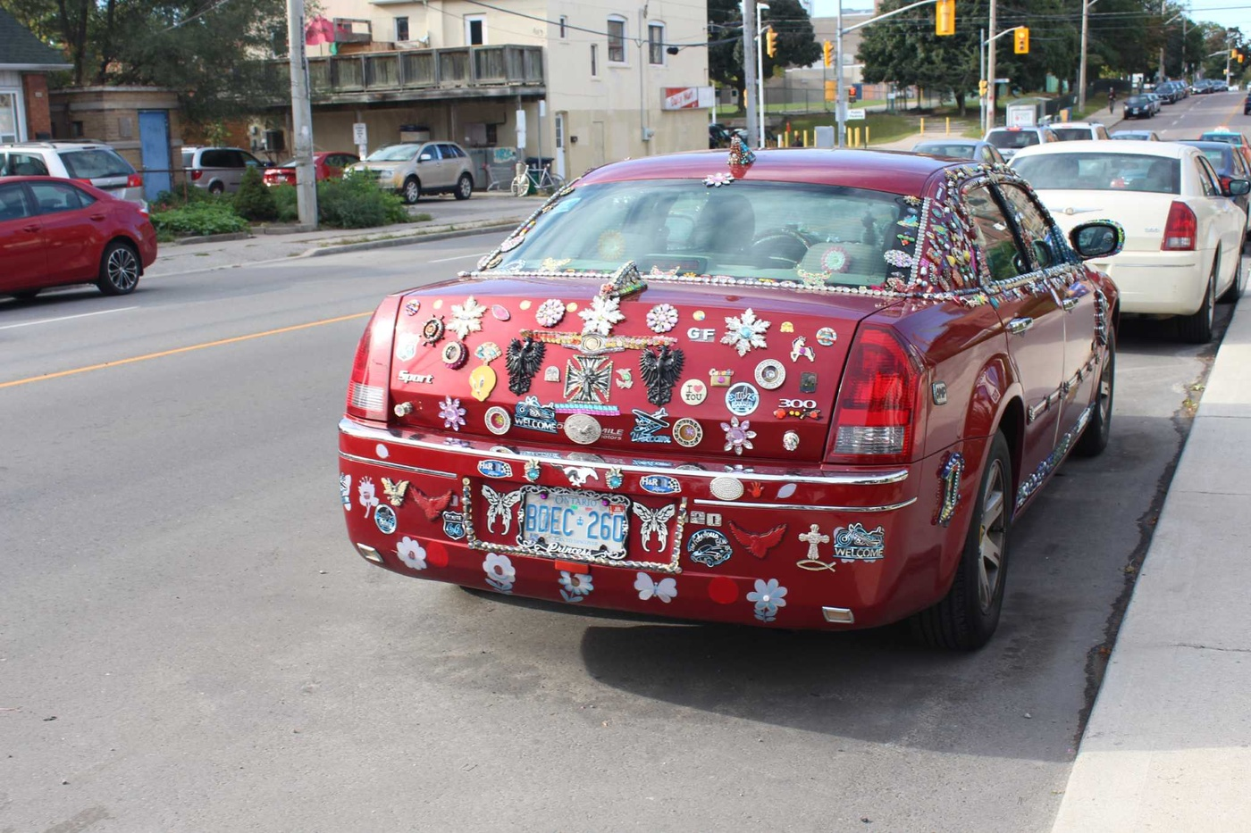 glitter car coxwell toronto