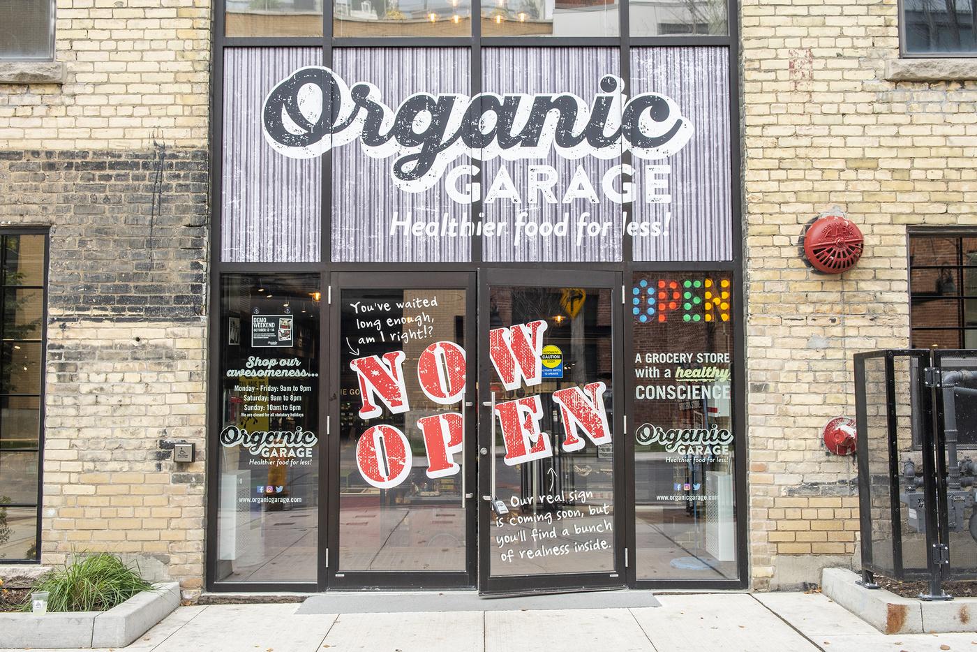 Organic Garage Toronto