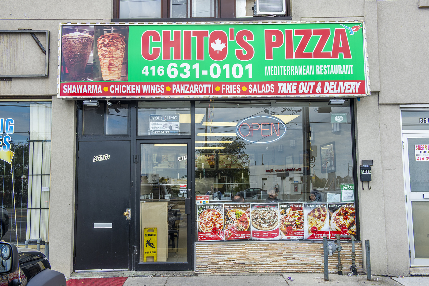 chitos pizza toronto