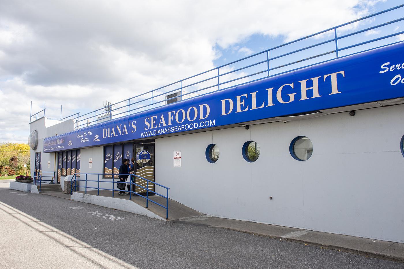 Dianas Seafood Toronto