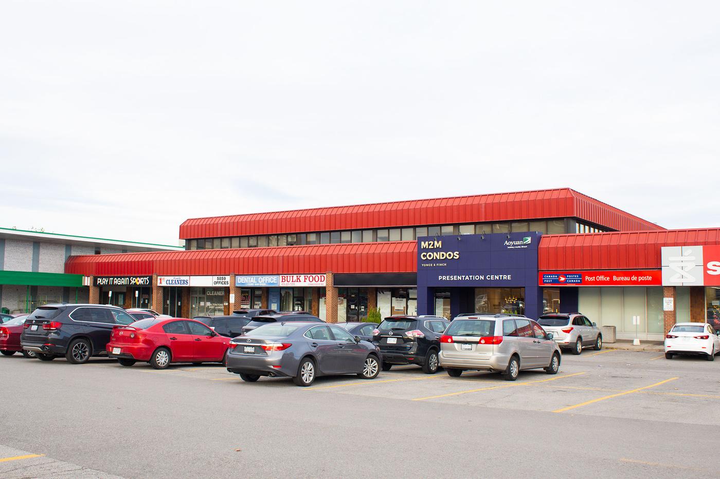 newtonbrook plaza toronto