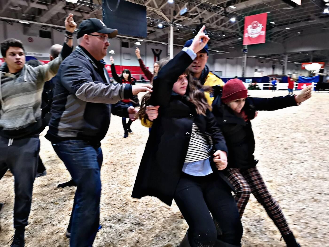 royal winter fair protest