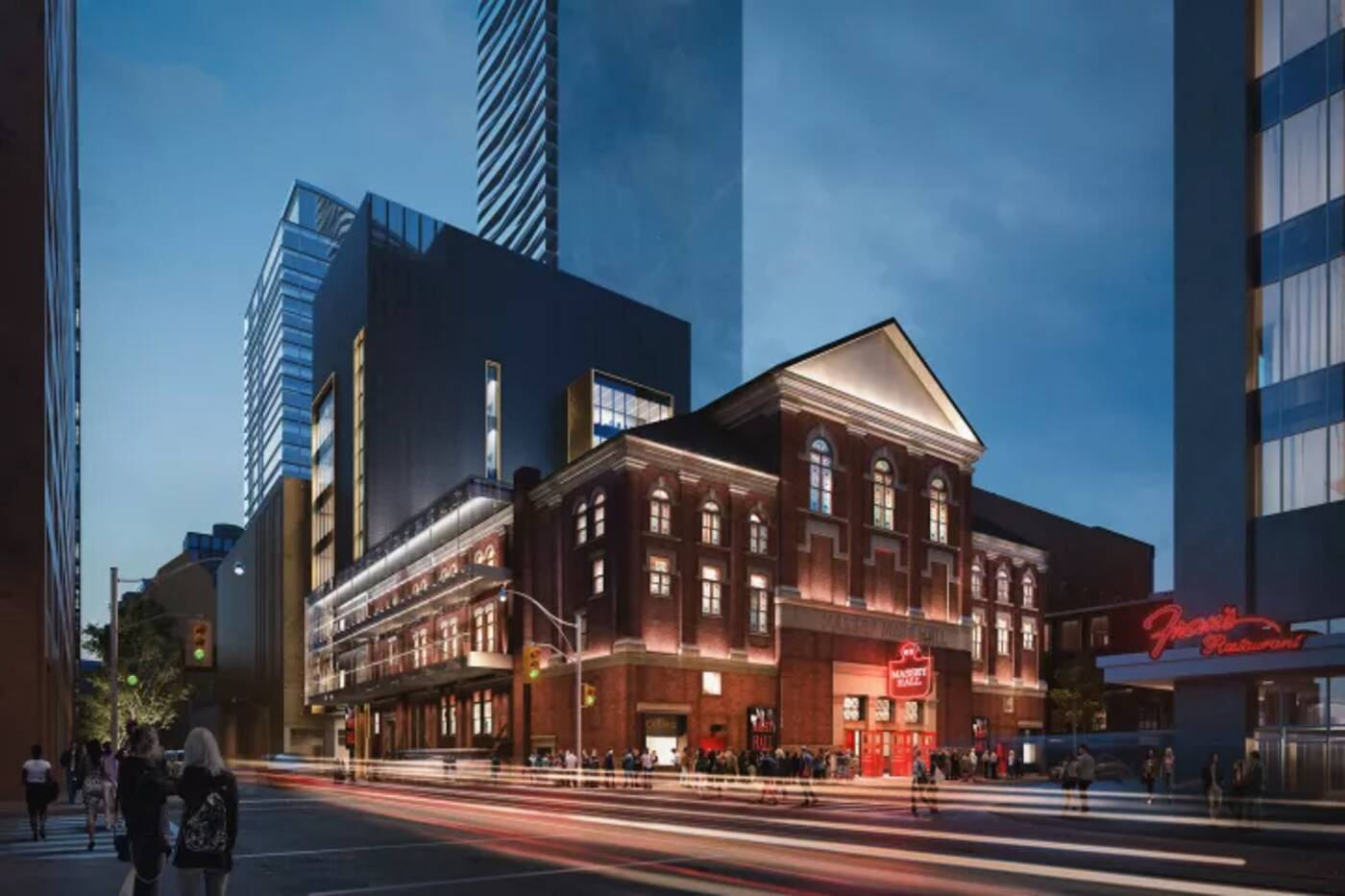 Massey hall renovations