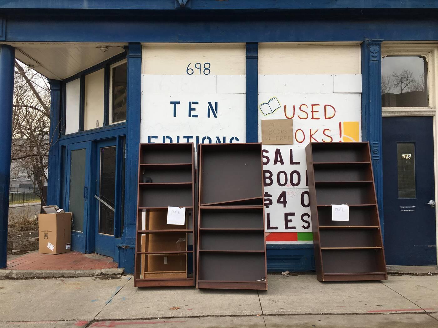 ten editions bookstore