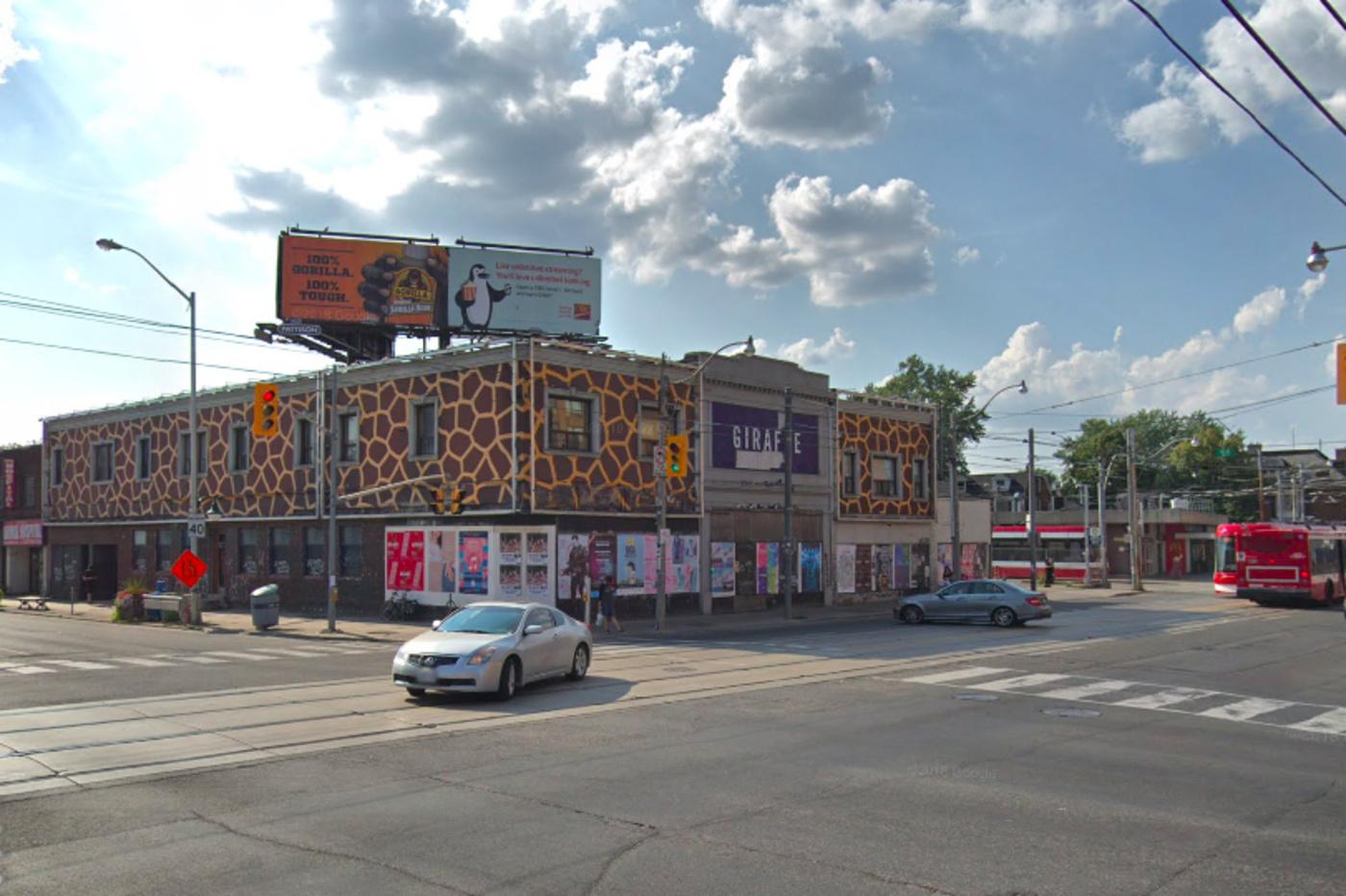giraffe condo building